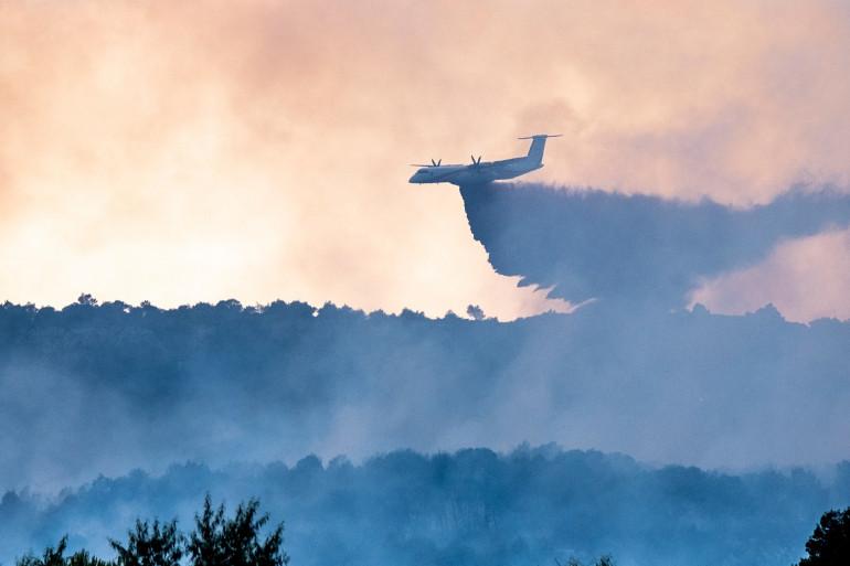 Un violent incendie parcours 500 hectares dans l'Aude