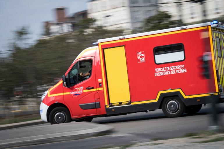 Un véhicule des pompiers (image d'illustration)