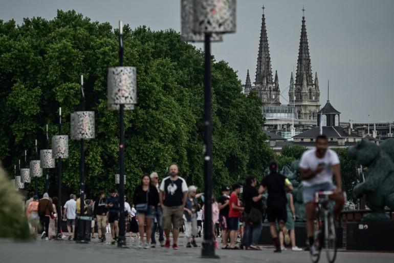 La ville de Bordeaux le 27 juillet 2021