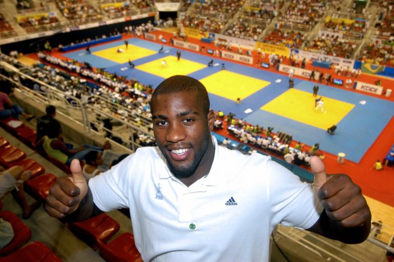Teddy Riner à Rio le 15 septembre 2007