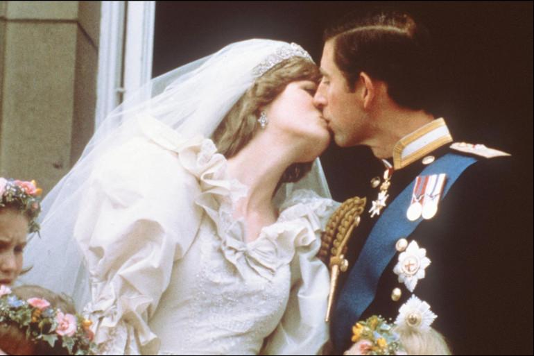 Lady Diana et le prince Charles, le 29 juillet 1981, lors de leur mariage
