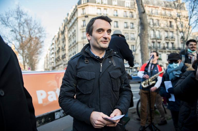 Florian Philippot, le 9 janvier 2021.