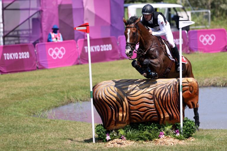 Robin Godel, cavalier suisse aux Jeux Olympiques de Tokyo 2021