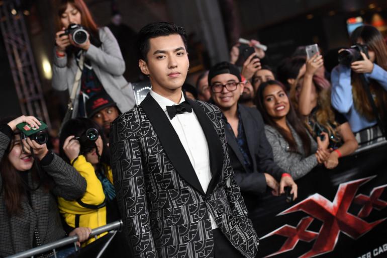 Kris Wu à Los Angeles le 20 janvier 2017 (illustration)