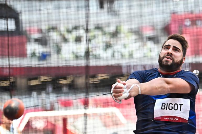 Le Français Quentin Bigot s'est qualifié pour la finale du marteau à Tokyo le 2 août 2021.