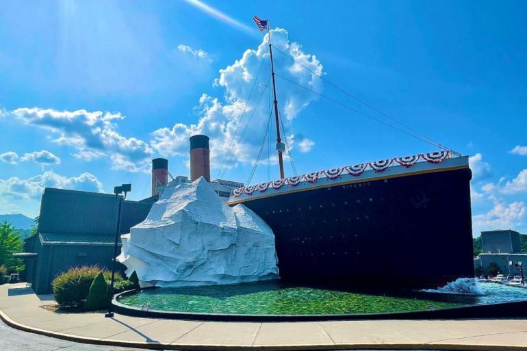 Le Titanic Museum Attraction de Pigeon Hole, aux Etats-Unis (Illustration)