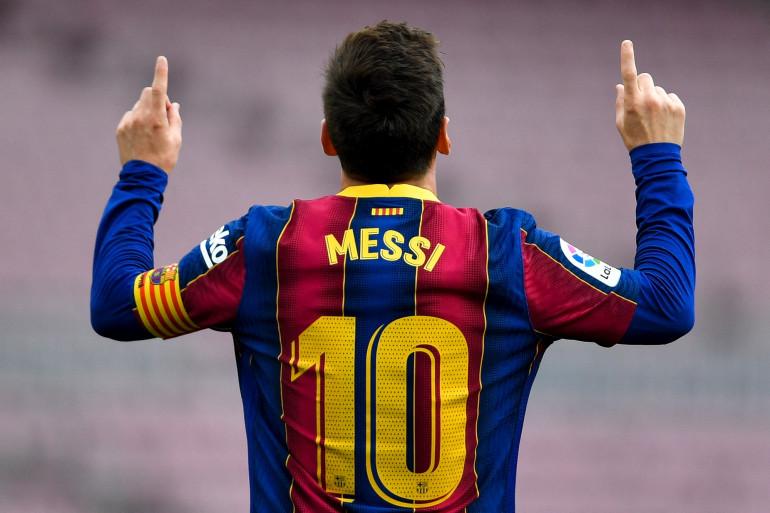 Lionel Messi, le 16 mai 2021