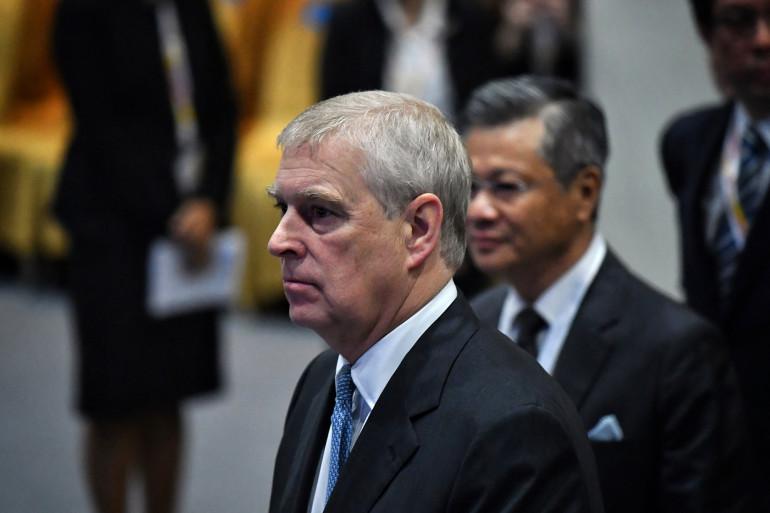Le prince Andrew, duc d'York au sommet de l'ASEAN sur les affaires et l'investissement à Bangkok, le 3 novembre 2019.