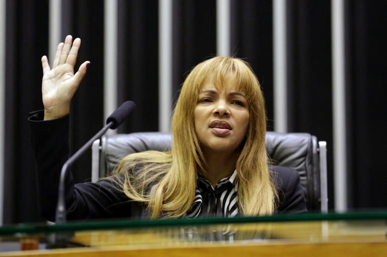 La députée brésilienne Flordelis dos Santos