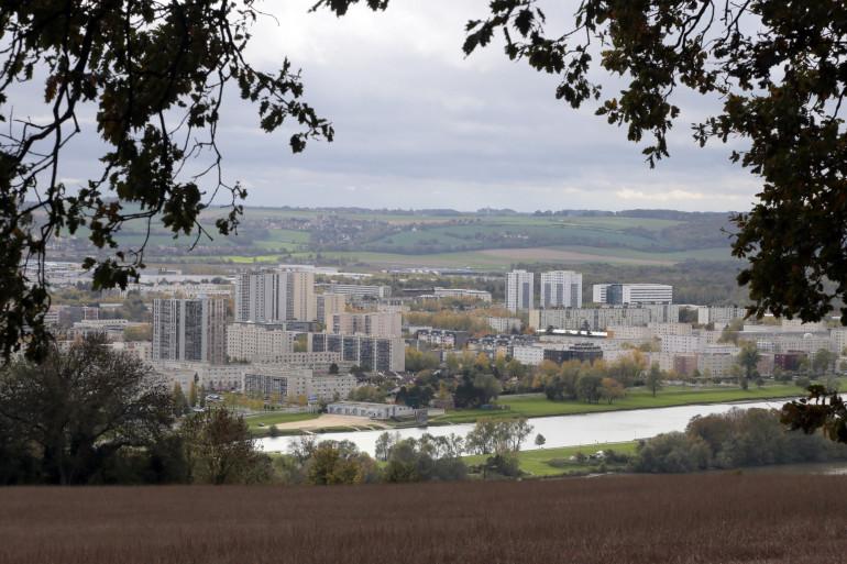 La ville de Mantes-la-Jolie, dans les Yvelines