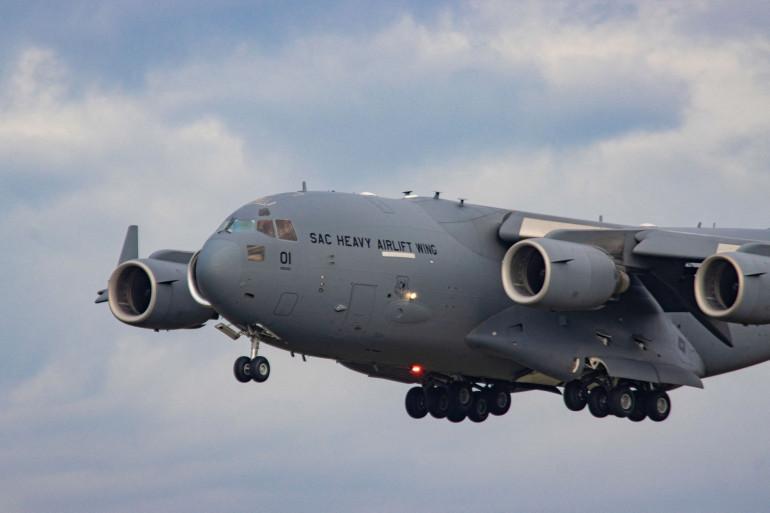 Un avion de la US Air Force