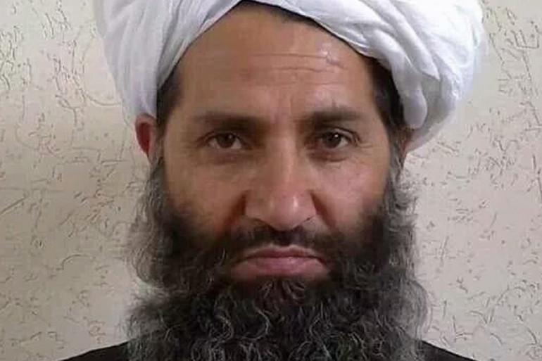 Photo non-datée de Haibatullah Akhundzada fournie en 2016 par les talibans.