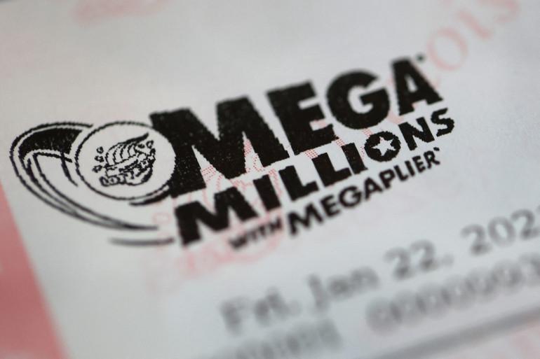 Un ticket de Mega Millions (illustration).