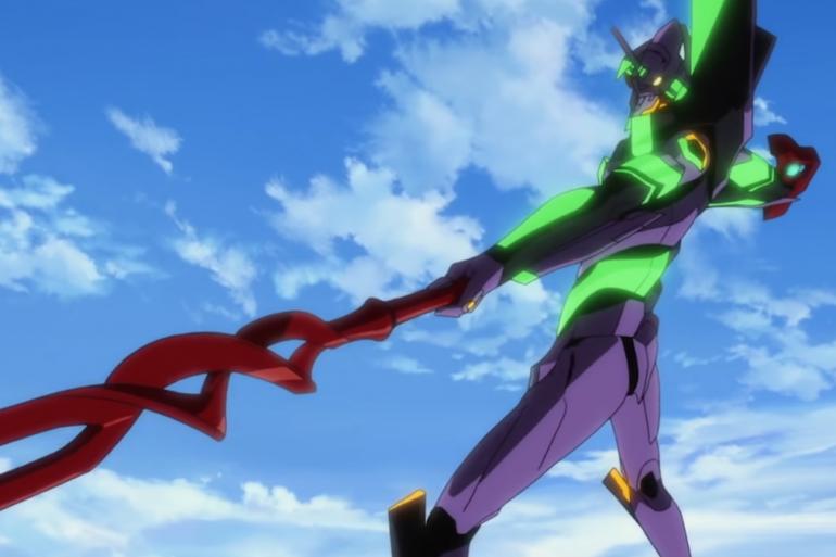 """Le robot-géant mythique EVA-01 dans """"Evangelion: 3.0+1.0 Thrice Upon A Time"""""""