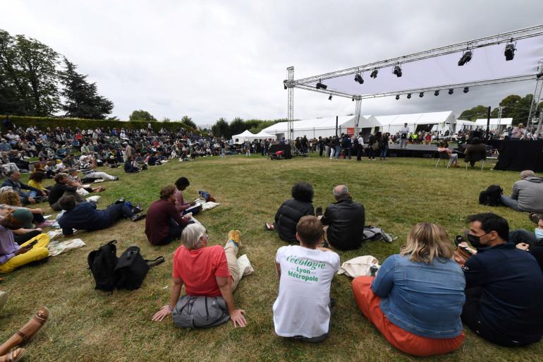 Les Journées d'été d'Europe Ecologie-Les Verts (EELV) ont commencé à Poitiers, le 19 août 2021.