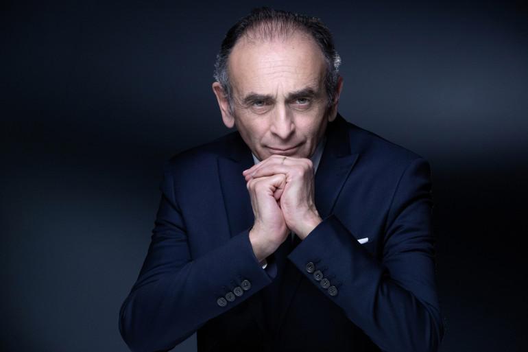 Le polémiste Éric Zemmour, le 22 avril 2021