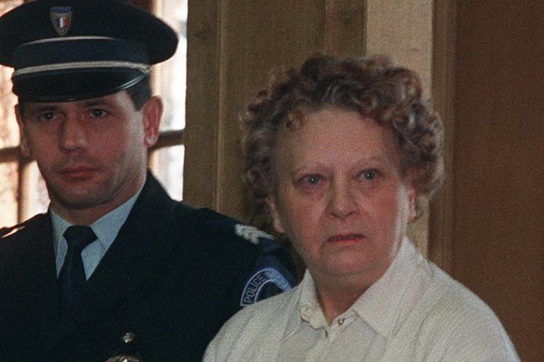Simone Weber, le 7 janvier 1991 au tribunal de Nancy