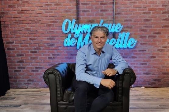 Jacques Cardoze, ex-journaliste devenu directeur de la communication de l'OM.