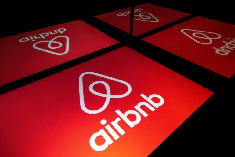 La plateforme de locations touristiques entre particuliers, Airbnb (illustration)