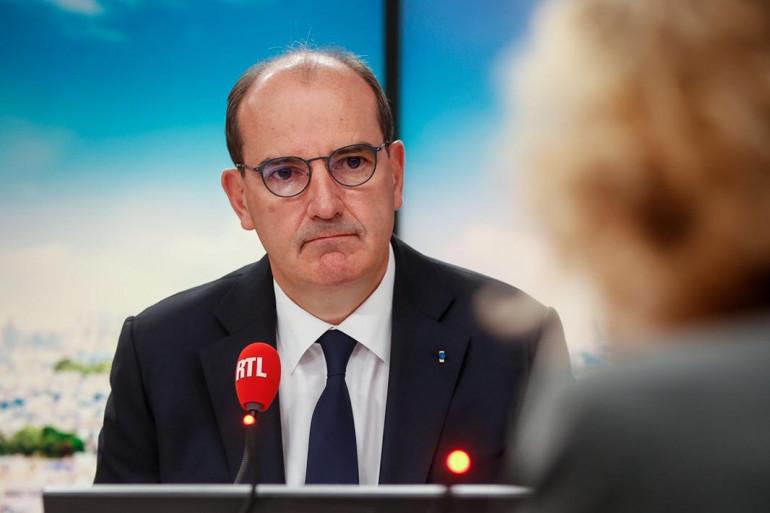 Jean Castex dans les studios de RTL le 26 août 2021