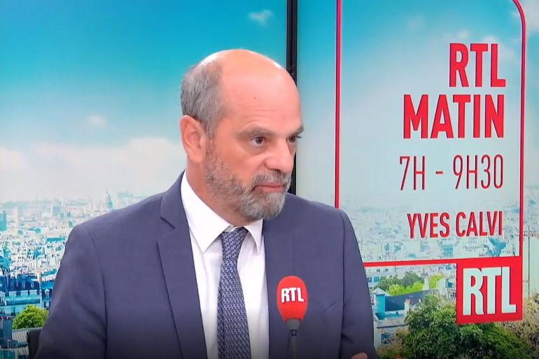 Le ministre de l'Education nationale Jean-Michel Blanquer était l'invité de RTL vendredi 27 août.