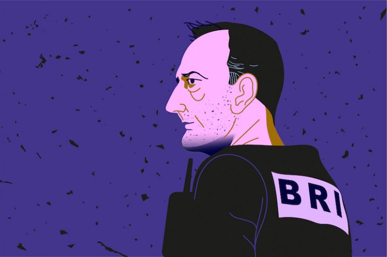 Christophe Molmy, chef de la BRI parisienne