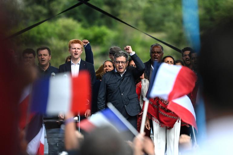 Jean-Luc Mélenchon, le 29 août 2021 à Châteauneuf-sur-Isère