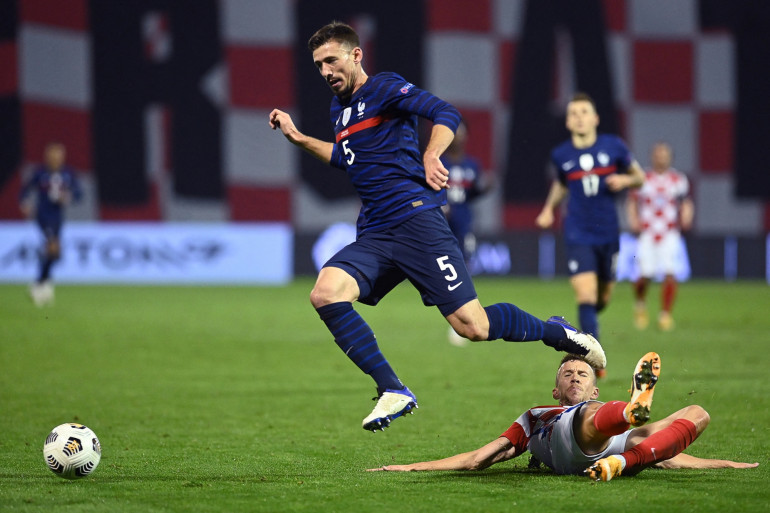 Le défenseur Clément Lenglet, face à la Croatie le 14 octobre 2020