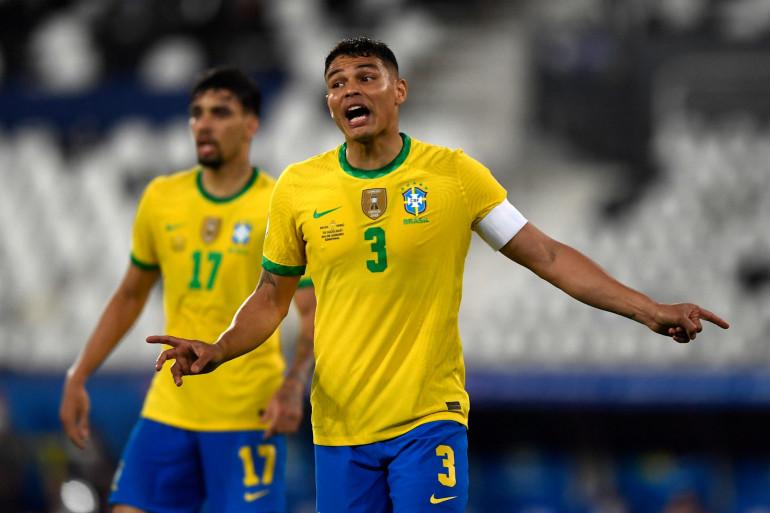 Thiago Silva ne jouera pas les premiers matchs de qualification pour le Mondial 2022