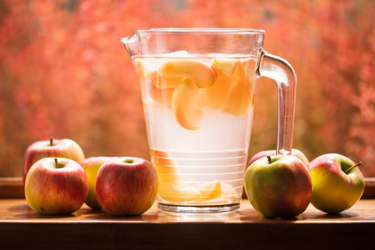 Découvrez la recette de l'eau infusée de Cyril Lignac