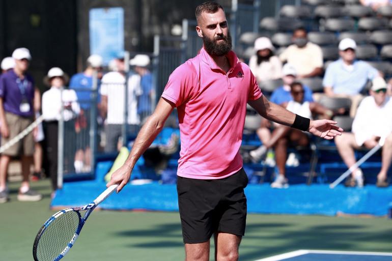 Benoît Paire à l'US Open le 30 août 2021
