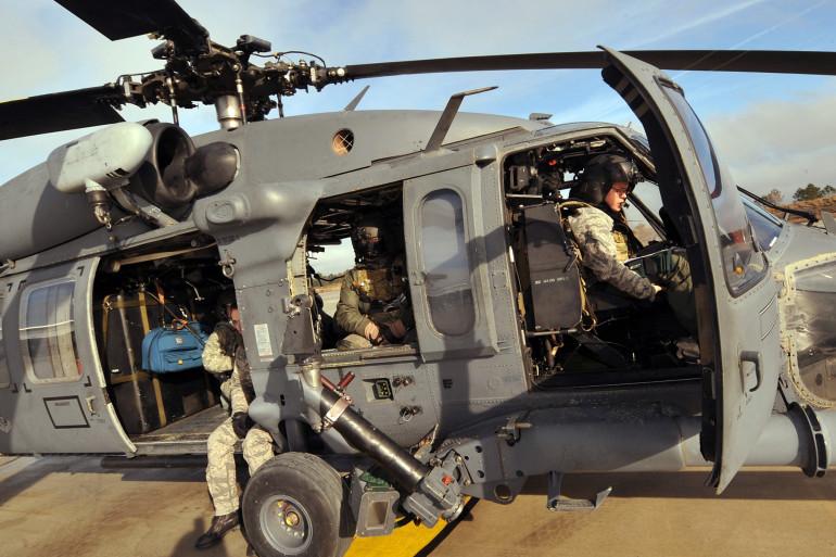 Un hélicoptère de l'armée américaine (illustration)