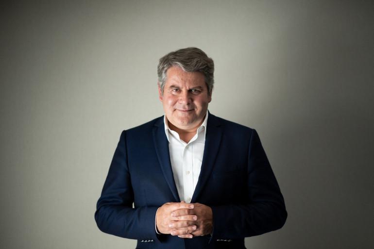Franck Louvrier, le maire de La Baule