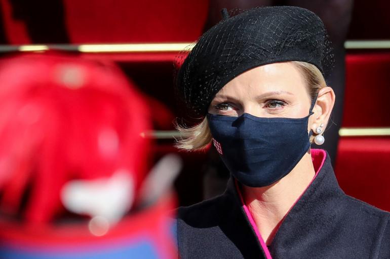 La princesse Charlène de Monaco, en novembre 2020