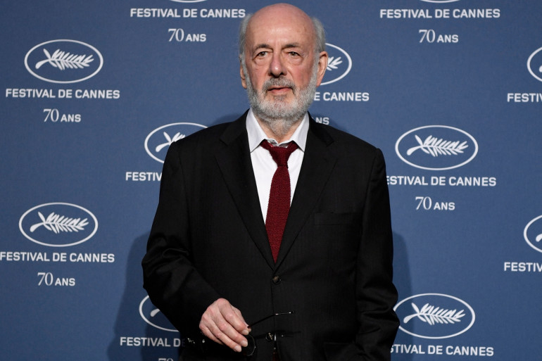 Le réalisateur Bertrand Blier au festival de Cannes en 2016