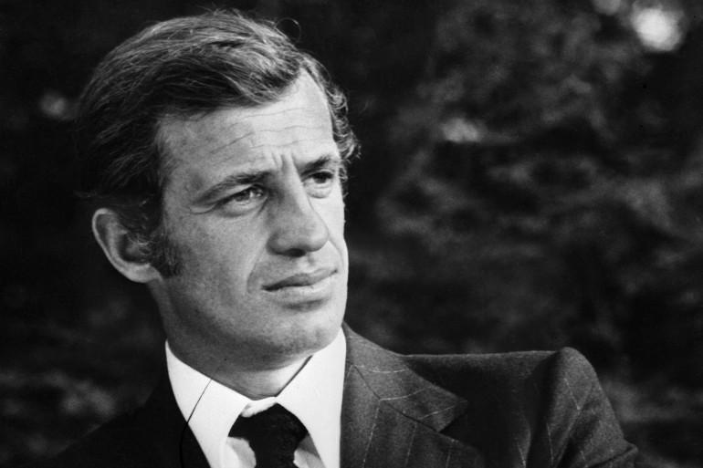 Jean-Paul Belmondo, le 1er janvier 1973