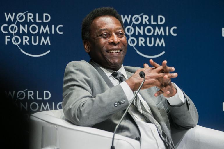 L'ancien footballeur brésilien Pelé