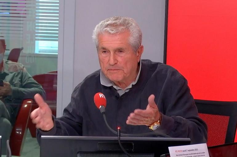 Claude Lelouch sur RTL le 7 septembre 2021