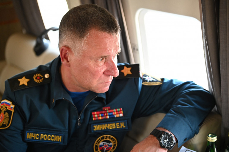 Le ministre russe Evguéni Zinitchev, le 6 août 2021