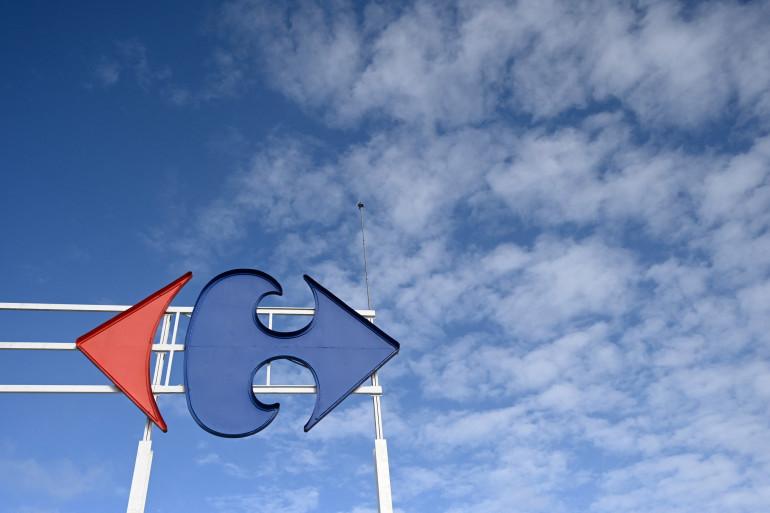 Logo de l'enseigne Carrefour