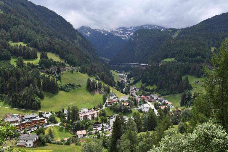 Les alpes autrichiennes (illustration)
