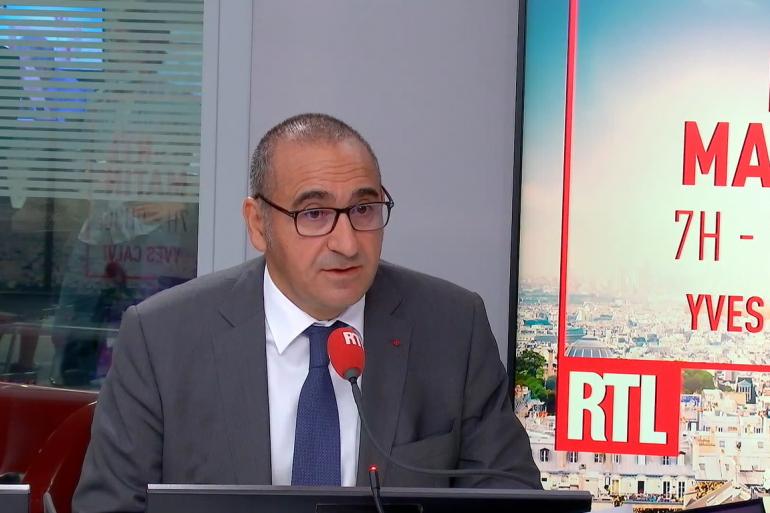 Laurent Nuñez au micro de RTL.