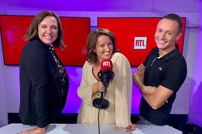 Jade, Anne Roumanoff et Eric Dussart