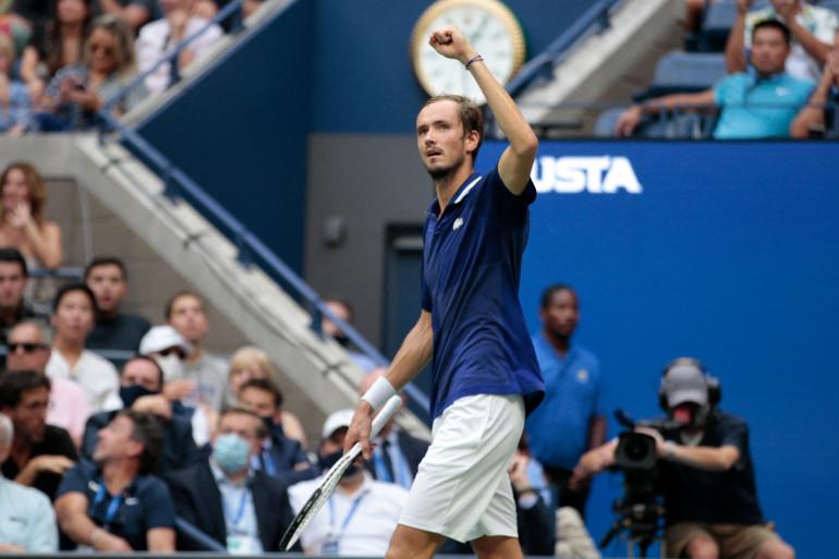 Daniil Medvedev en finale de l'US Open 2021