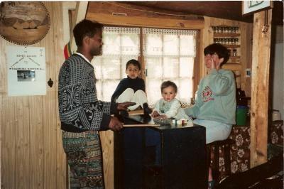 La famille Davila au printemps 1995.