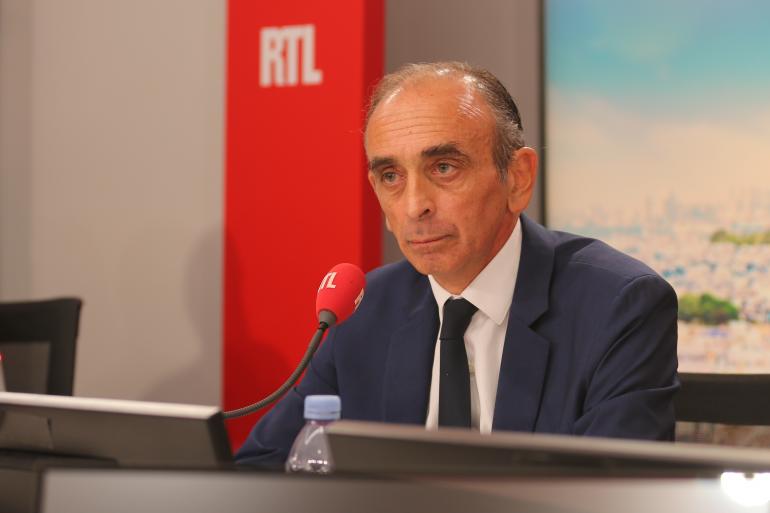 Éric Zemmour invité de RTL Matin le 14 septembre 2021