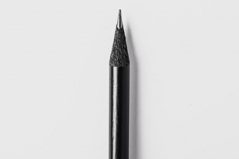 Un crayon à papier (image d'illustration)