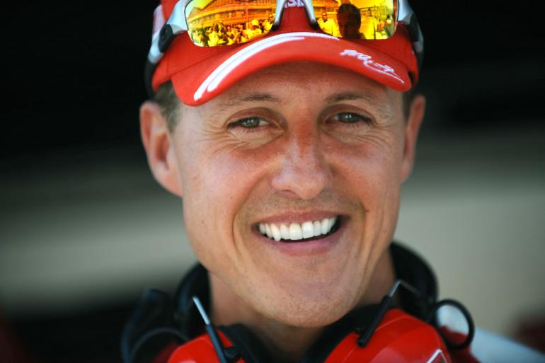 Michael Schumacher à Valence en Espagne, le 22 août 2009.