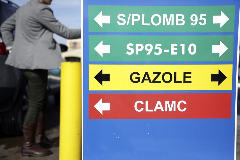 Une station essence à Nîmes (illustration).