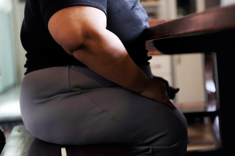 Une personne obèse (illustration)